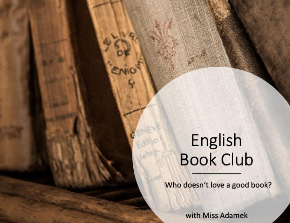 Neu als AG: The English Book Club