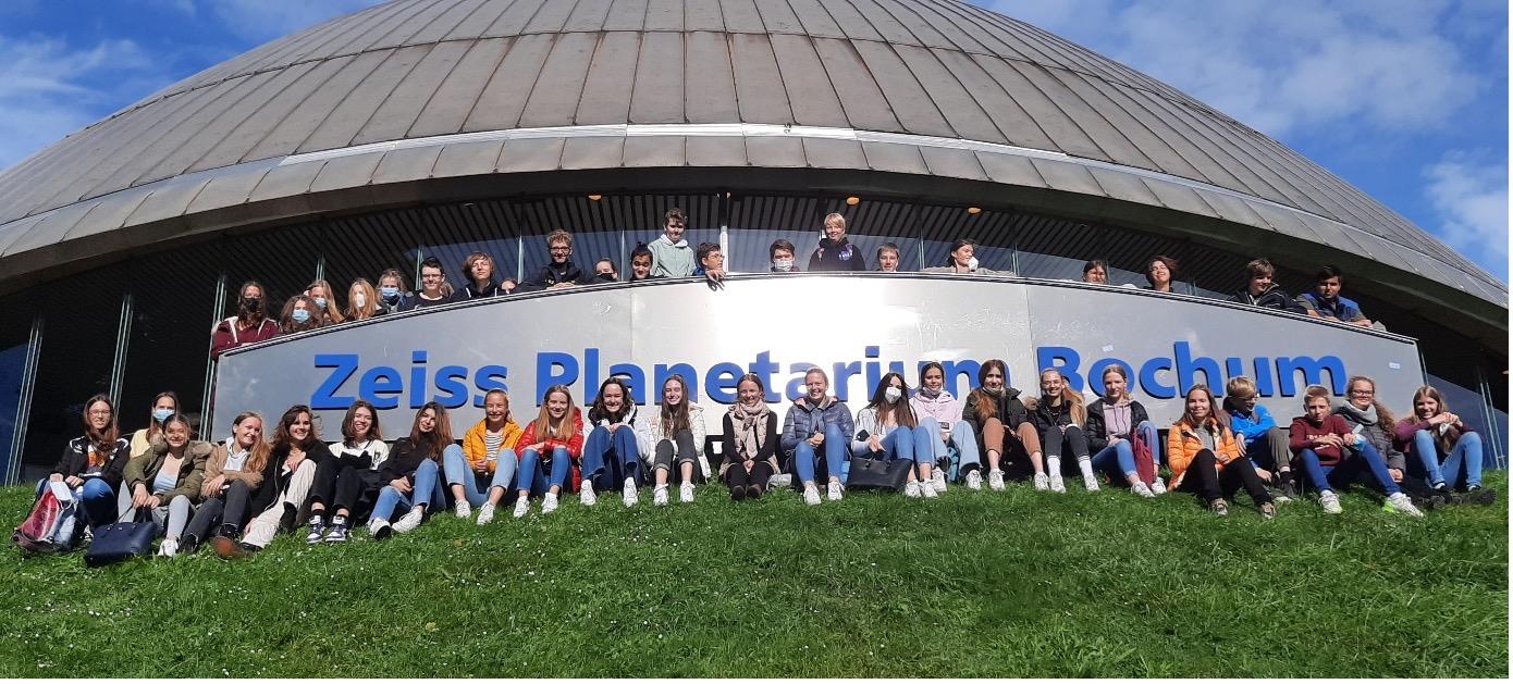 Ausflug ins Planetarium